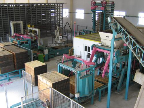Завод по изготовлению строительных блоков