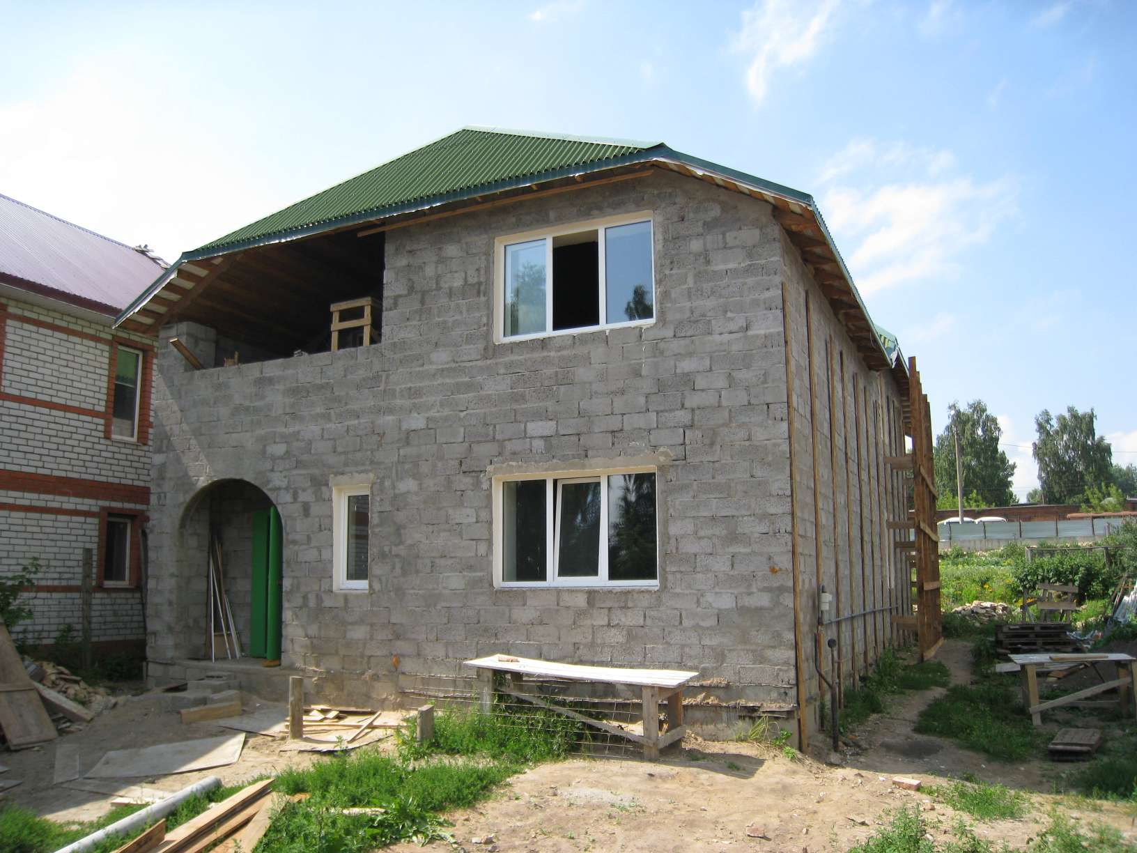Строим дом из керамзитобетонных блоков своими руками цена